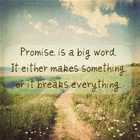 Quotes About Not Keeping Your Promises