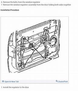 Replace Manual Window Regulator  How Do You Replace The