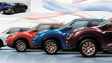 nissan juke  special color limited edition launched