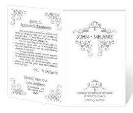 wedding program template fan wedding program template printable instant