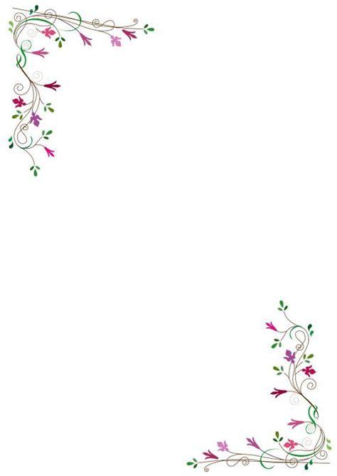 clipart cornici gratis frame fleurs free clipart floral frame flowers