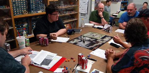 d and d table role playing the basics papers and pencils