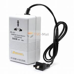 500w Foreign Electricity Power Converter Transformer Sw