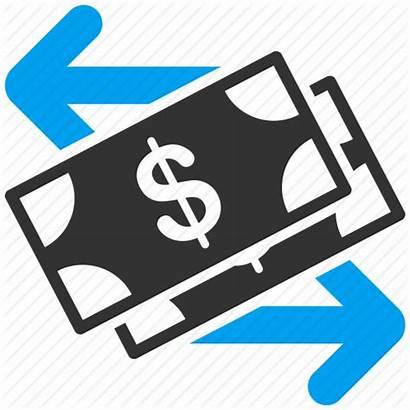 Money Transfer Clipart Transaction Cash Flow Bank