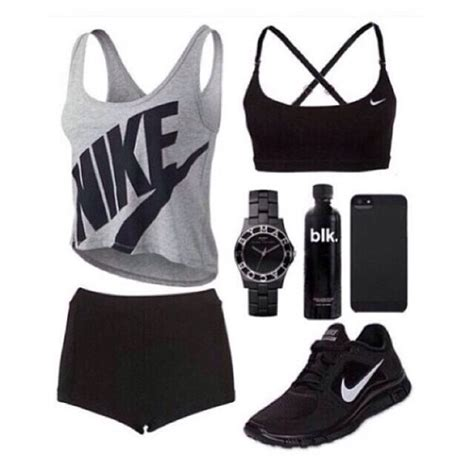 Gym outfit on Tumblr