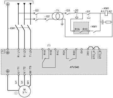 atv340u15n4e variable speed drive 1 5kw 400v 3