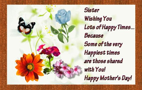 Happy Mothers Day My Sister Quotes