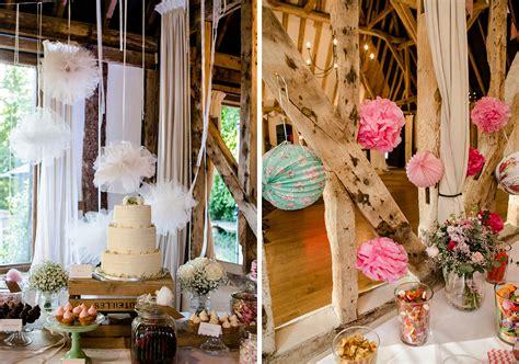 spring wedding ideas ceremony decorations by clock barn