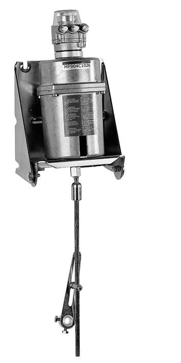 Pneumatic damper actuator, MP904