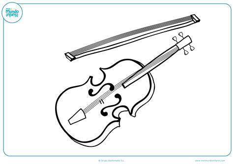 _escuchar canciones sobre los instrumentos musicales. Dibujos Artísticos para colorear (Fáciles y a Lápiz) - Mundo Primaria