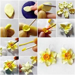 20+ DIY Beautiful Polymer Clay Flower Step By Step - Art