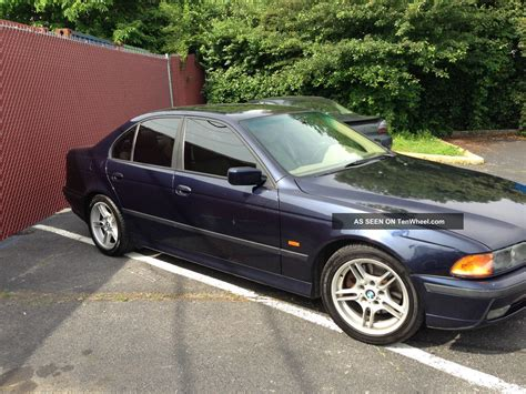2000 Bmw 540i Specs by 2000 Bmw 540i Base Sedan 4 Door 4 4l