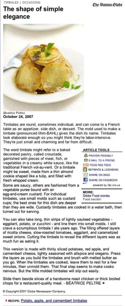 cuisine definition timbale food definition