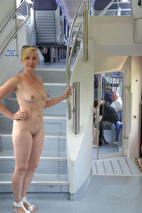 Naked Blonde Aboard July Voyeur Web Hall Of Fame
