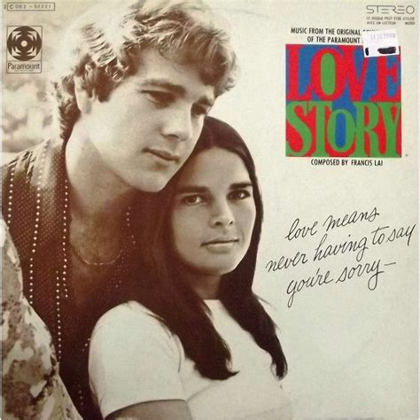 Love Story (bof, Soundtrack) By Francis Lai, Lp With