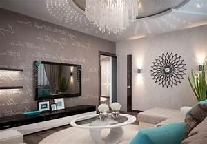 Wohnzimmer Ideen Modern : wohnzimmer einrichten grau lila versammeln ~ Michelbontemps.com Haus und Dekorationen