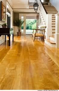 hardwood floors yellowing yellow birch modern wood flooring chicago by