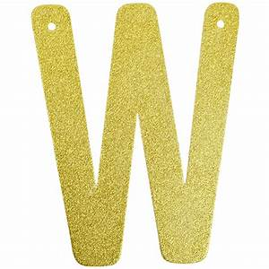 glitter letter banner garland 6inch gold letter w With glitter banner letters