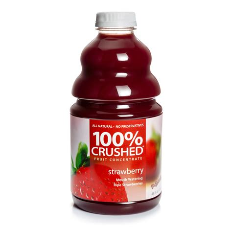 Dr. Smoothie Strawberry 100% Crushed Fruit Smoothie Concentrate   46 oz. Bottle(s
