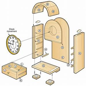 Woodworking Clock Plans Plans DIY Free Download Free Wood