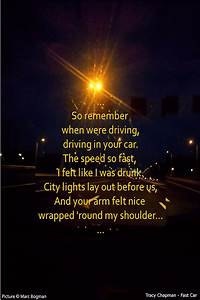Tracy Chapman -... Awesome Car Quotes