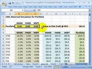 Value At Risk Berechnen Beispiel : frm value at risk var historical simulation for portfolio youtube ~ Themetempest.com Abrechnung