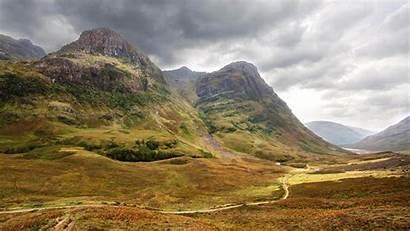 Scottish Glencoe Valley Highlands Brigadoon Scotland Village
