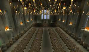 Minecraft Hogwarts Great Hall