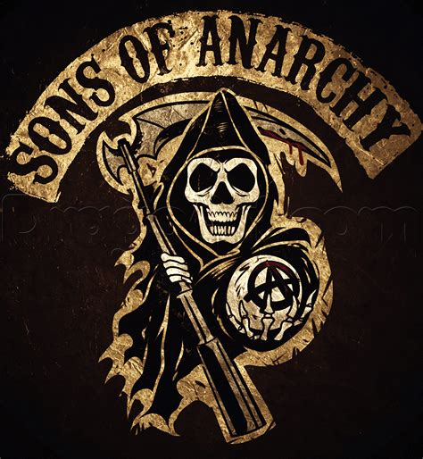 How To Draw The Sons Of Anarchy  Soa, Walking Dead