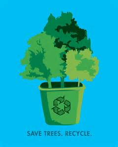 Recycling Paper Save Trees