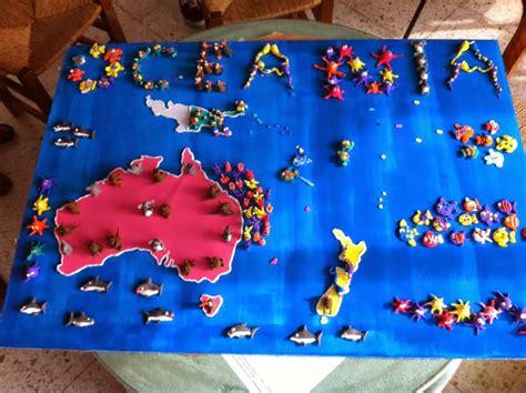 maqueta oceano maqueta oceano maqueta escolar en papel ecosistema