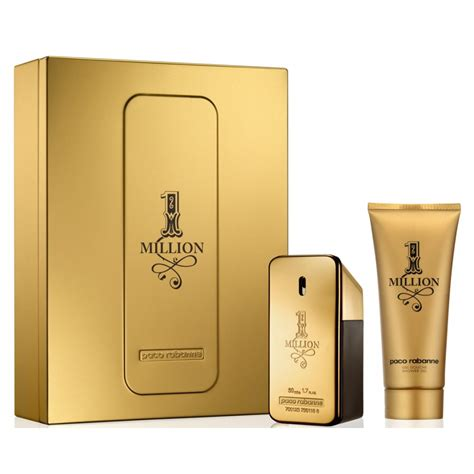 paco rabanne 1 million eau de toilette 50ml shower gel 100ml gift set paco rabanne from