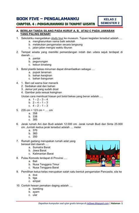 Home › belajar › kelas 4 › pendidikan › sd › sekolah › soal › soal latihan › tema 2. Download Soal Tematik Kelas 2 Semester 2 Tema 5 Subtema 4 ...