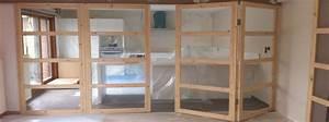 Portes interieures en bois a lille creation et pose de for Porte de garage coulissante et porte vitrée intérieur bureau