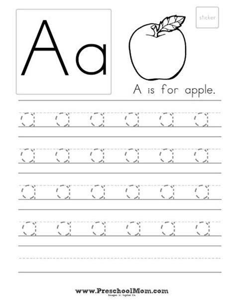 free preschool handwriting worksheets learning