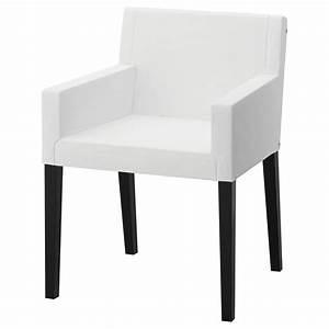 Chaise Noire Ikea : nils structure chaise accoudoirs noir ikea ~ Teatrodelosmanantiales.com Idées de Décoration