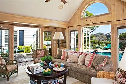 Villa Interior Pool Table Cozy Wallpapers Living