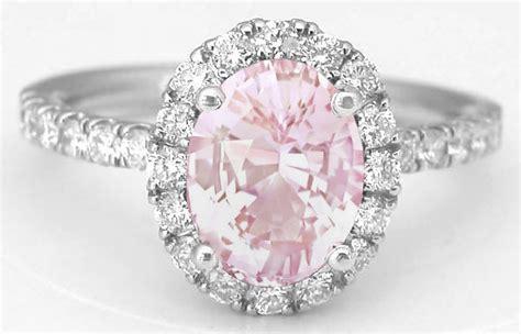 Rare Pink Sapphire And Diamond Halo Ring In 14k From. Men Engagement Rings. Bridal Shower Rings. Raw Amethyst Wedding Rings. Crochet Wedding Rings. Byu Rings. Cute Rings. Jewellery Design Rings. 4 Stone Rings