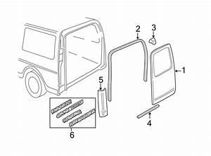 Chevrolet Express 2500 Door Shell  Rear   1  2  3  4  U0026 1 Ton