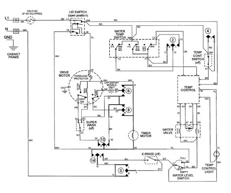 ge washing machine motor wiring diagram ge wiring diagram and مواد دراسية washing machine