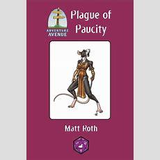 Adventure Avenue A Plague Of Paucity