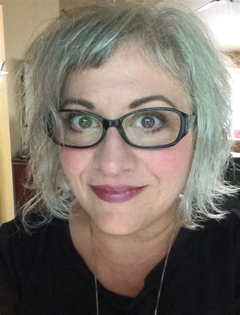 Shannon Silver Since 2008 Gray Hair Grey Hair Silver