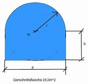 Ionisierungsenergie Berechnen : querschnitt tunnel berechnung gesucht ist breite a und h he b mathelounge ~ Themetempest.com Abrechnung