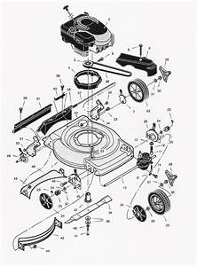 Scotts Lawn Mower Parts Diagram
