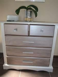 Meuble Repeint En Gris Perle : refaire un meuble au gout du jour chez lilypouce ~ Dailycaller-alerts.com Idées de Décoration