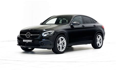 brabus launches glc glc coupe performance mods carscoops