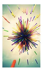 Lacza, Abstract, 3D, Colorful, Shapes, Explosion, Digital ...