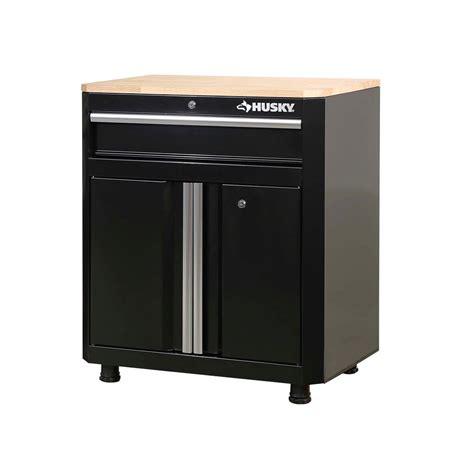 Garage Storage Cabinets With Doors by Husky 33 In H X 28 In W X 18 In D 1 Drawer 2 Door Steel