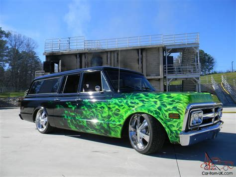 gmc suburban custom built  west coast customs
