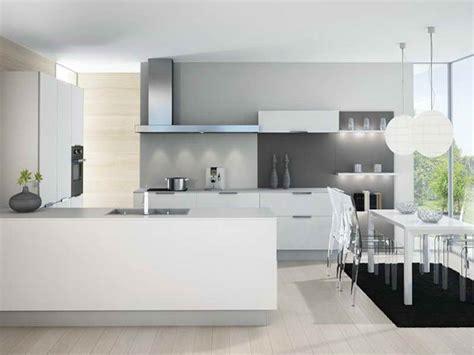 cuisine blanche sol gris cuisine moderne blanche et grise avec bar pk62 montrealeast